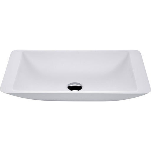 Fienza Classique 620 Above Counter Solid Surface Basin - Matte White