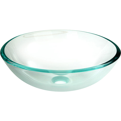 Fienza Crystal Clear Glass Bowl Basin - The Blue Space