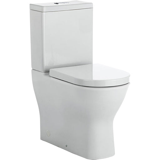Fienza Delta Rimless Back-to-Wall Toilet Suite - Easy Height toilets at The Blue Space