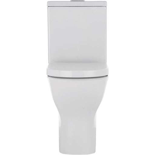 Fienza Delta Rimless Back-to-Wall Toilet Suite - Easy Height toilets