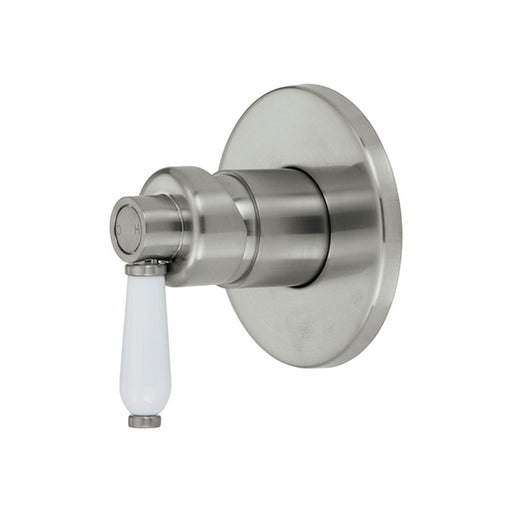 Fienza Eleanor Wall Mixer - Brushed Nickel/Ceramic