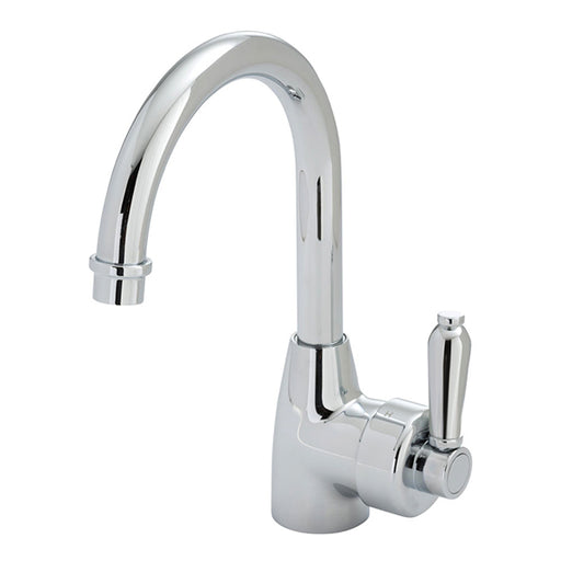 Fienza Eleanor Gooseneck Basin Mixer - Chrome