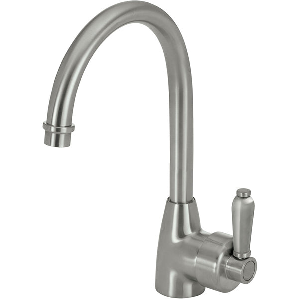 Fienza Eleanor Gooseneck Sink Mixer - Brushed Nickel