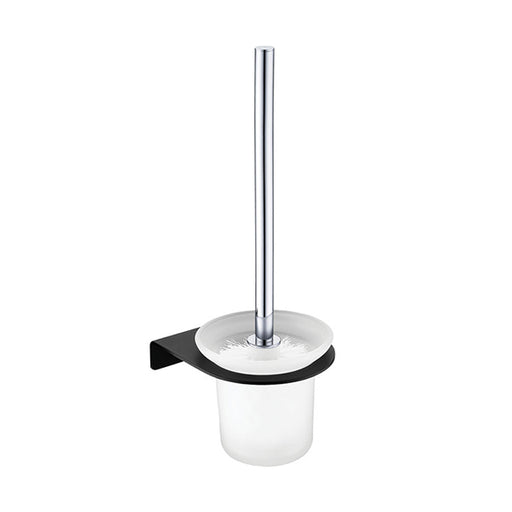 Fienza Lincoln Mixed Finish Toilet Brush & Holder