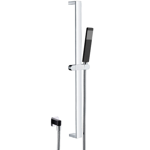 Fienza Lincoln Rail Shower, Mixed Finish Full Length