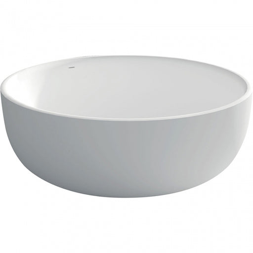 Fienza Shinto Matte White Stone Freestanding Bath - The Blue Space