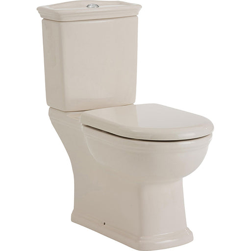 Fienza RAK Washington Close-Coupled Ivory Toilet Suite Heritage Design