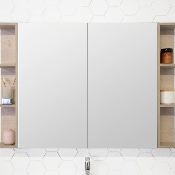 ADP Glacier Shaving Cabinet 600mm - 1800mm by ADP - The Blue Space