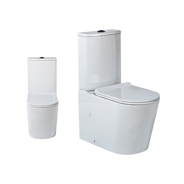 Seima Gyali Rimless Wall Faced Toilet Suite