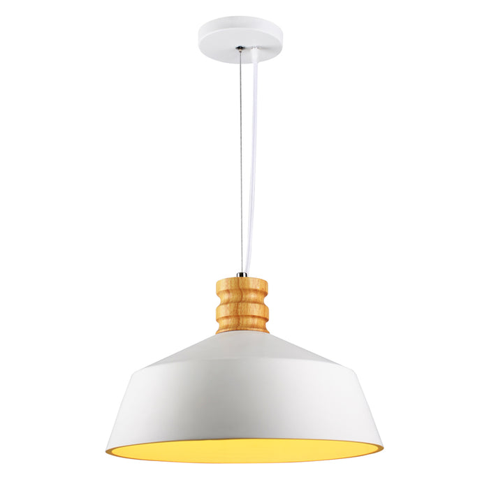 Crompton Billie Pendant Light-White