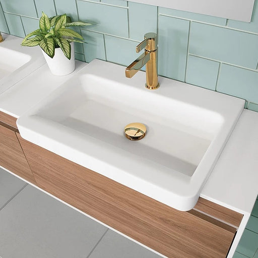 ADP Integrity Solid Surface Semi-Recessed Basin by ADP - The Blue Space