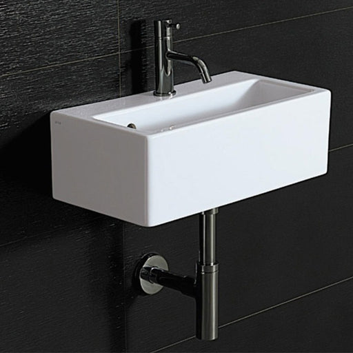Turner Hastings Isa Fine Fireclay Compact Wall Hung Wash Basin