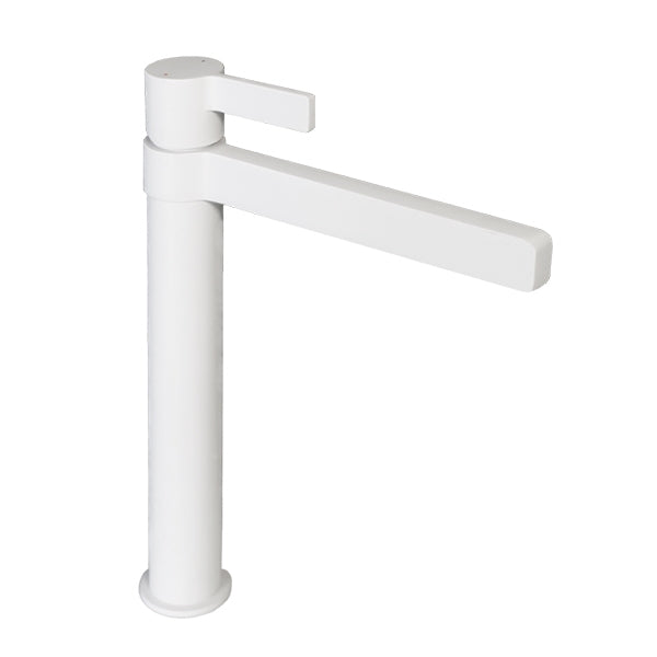 Jamie.J Martini Extended Basin Mixer-Matte White - The Blue Space