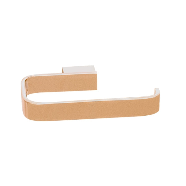 Jamie.J Brooklyn Toilet Roll Holder-Polished Rose Gold - The Blue Space