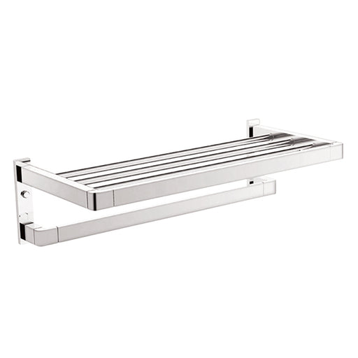 ADP Brooklyn Bathroom Towel Rack-Chrome - The Blue Space