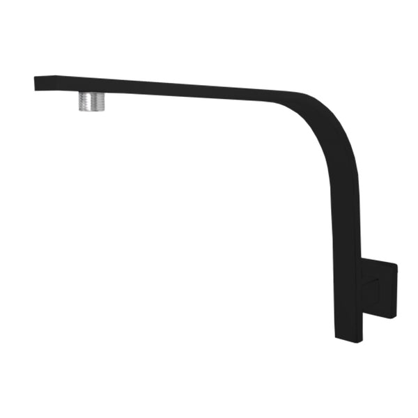 Jamie.J Dusk High Rise Shower Arm in Matte Black - The Blue Space