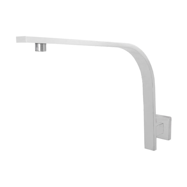 Jamie.J Dusk High Rise Shower Arm in Matte White - The Blue Space