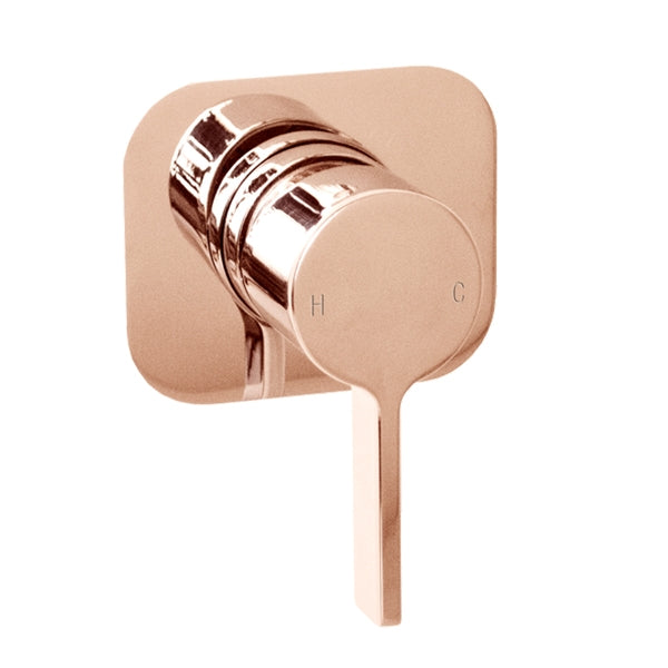 Jamie.J Martini Ritz Wall Mixer-Polished Rose Gold - The Blue Space