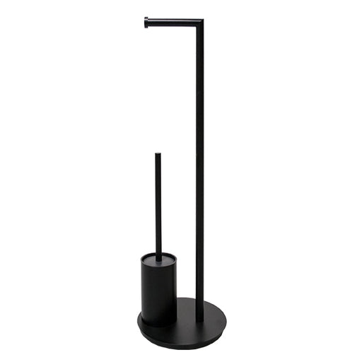 Jamie.J Staten Freestanding Toilet Caddy-Matte Black - The Blue Space