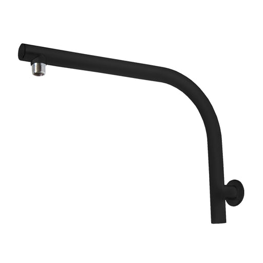 Jamie.J Twilight High Rise Shower Arm-Matte Black - The Blue Space