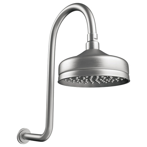 Fienza Lillian Wall Arm Shower Set - Brushed Nickel - The Blue Space
