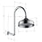 Fienza Lillian Wall Arm Shower Set - Matte Black specs