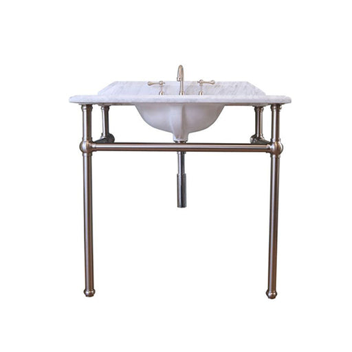 Turner Hastings Mayer Washstand with 90 x 55 Real Carrara Marble Top Online at The Blue Space