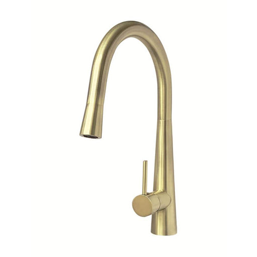 Meir Pull Out Kitchen Mixer - Tiger Bronze Gold online at The Blue Space