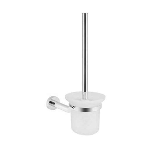 Meir Round Chrome Toilet Brush and Holder at The Blue Space