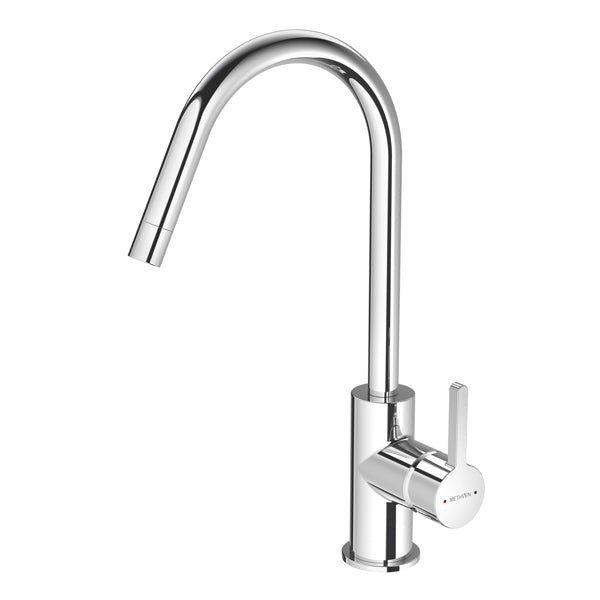 Methven Arrow Kitchen and Laundry Sink Mixer Chrome - The Blue Space