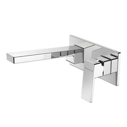 Methven Blaze Plate Mount Bath Mixer With 200mm Spout - The Blue Space