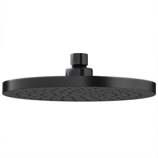 Methven Krome 200mm Round Drencher (Matte Black) - The Blue Space