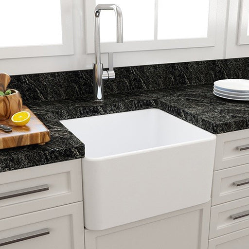 Turner Hastings Novi 500 Flat Front Fine Fireclay Butler Sink online at The Blue Space