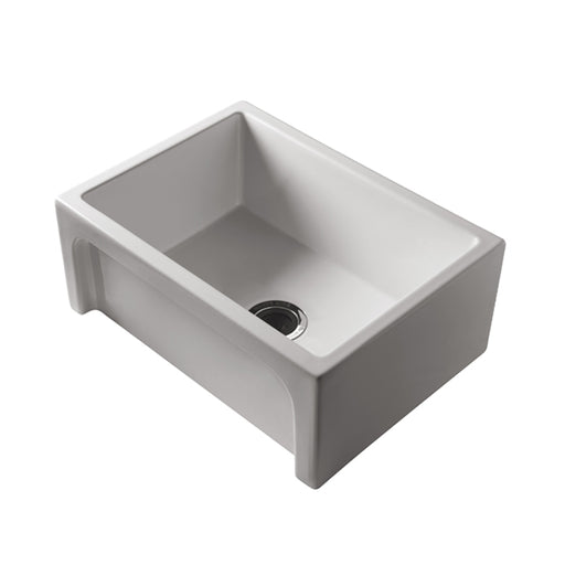 Turner Hastings Patri Farmhouse 75 x 46 Fine Fireclay Single Bowl Butler Sink - The Blue Space
