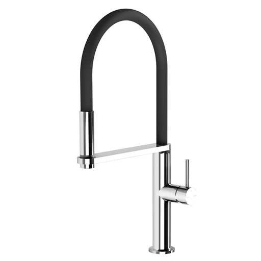 Phoenix Blix Flexible Hose Sink Mixer (Round) - Chrome
