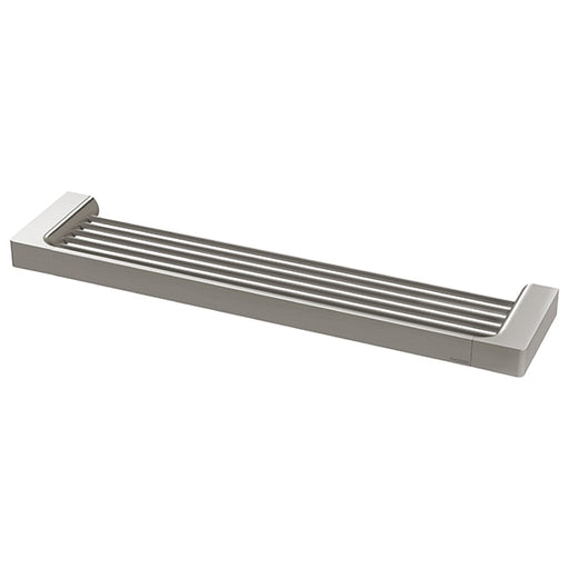 Phoenix Gloss Shower Shelf-Brushed Nickel
