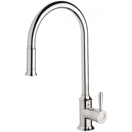 Phoenix Nostalgia Pull Out Sink Mixer-Chrome - the blue space