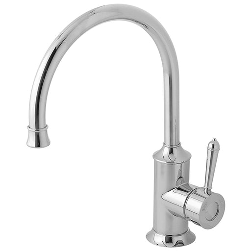 Phoenix Nostalgia Sink Mixer 220mm Gooseneck-Chrome - The Blue Space