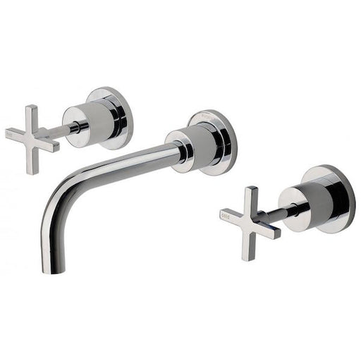 Phoenix Radii Cross Handles Bath Set 180mm - The Blue Space