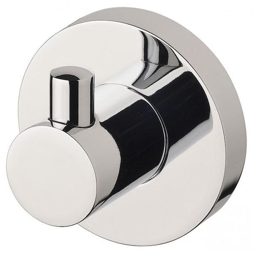 Phoenix Radii Robe Hook Round Plate-Chrome - Online at The Blue Space