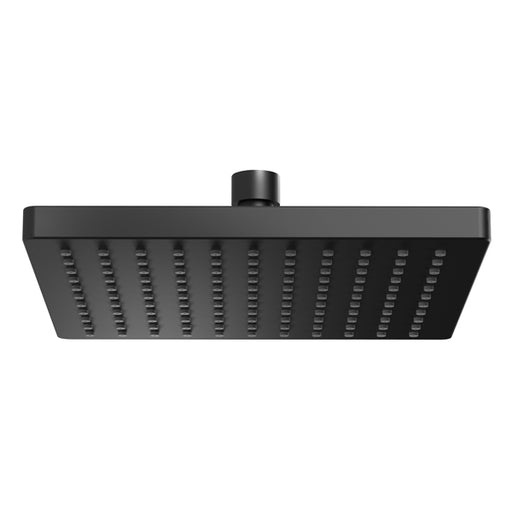 Phoenix Lexi Shower Rose Only 200mm Square - Matte Black - the blue space