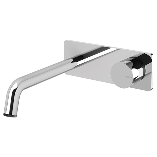 Phoenix Toi Wall Basin/Bath Mixer Set-Chrome