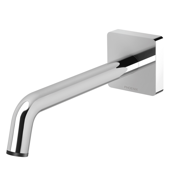 Phoenix Toi Wall Bath Outlet 180mm-Chrome