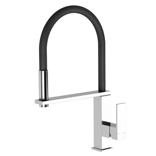 Phoenix Vezz Flexible Hose Sink Mixer (Square)-Chrome