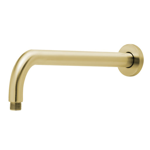 Phoenix Vivid Shower Arm Only 400mm Round- Brushed Gold