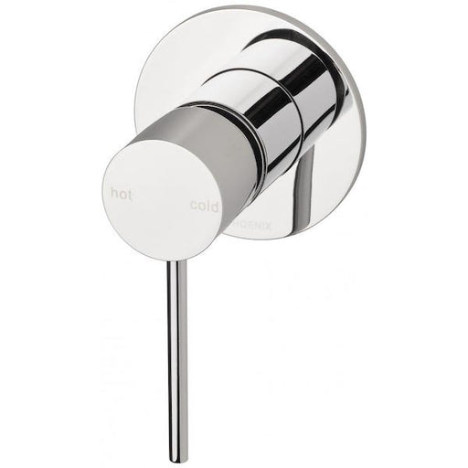 Phoenix Vivid Slimline Shower/Wall Mixer-Chrome - the blue space