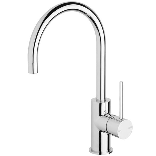 Phoenix Vivid Slimline Side Lever Sink Mixer 160mm Gooseneck-Chrome - the blue space