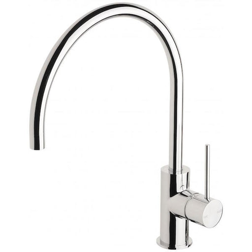 Phoenix Vivid Slimline Side Lever Sink Mixer 220mm Gooseneck-Chrome - the blue space