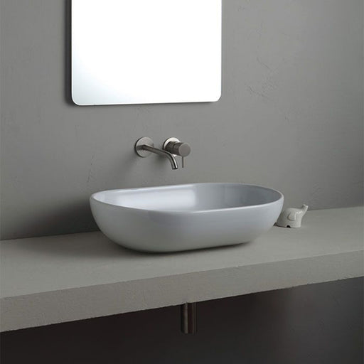 Turner Hastings Pompeii 58 x 42 Counter Top Fine Fireclay Wash Basin at The Blue Space