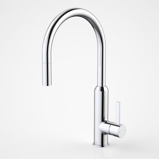 Dorf Vixen Retractable Sink Mixer Chrome - the blue space